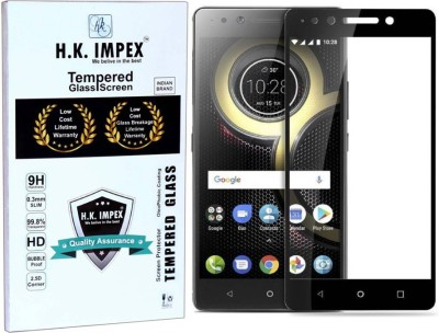 H.K.Impex Tempered Glass Guard for Lenovo K8 Plus(Pack of 1)