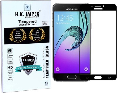 H.K.Impex Tempered Glass Guard for Samsung Galaxy A7 [2016]/A710 (5.5 inch)