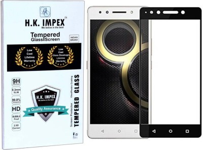 H.K.Impex Tempered Glass Guard for Lenovo K8 Note(Pack of 1)