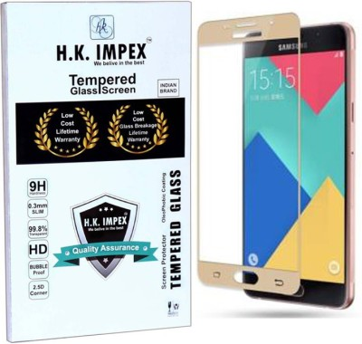 SMARTCASE Edge To Edge Tempered Glass for Samsung Galaxy A5 2016 Edition(Pack of 1)