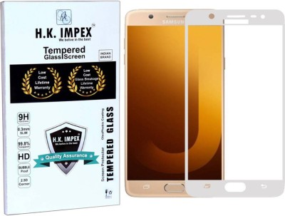 H.K.Impex Tempered Glass Guard for Samsung Galaxy On Max (5.7 inch)(Pack of 1)