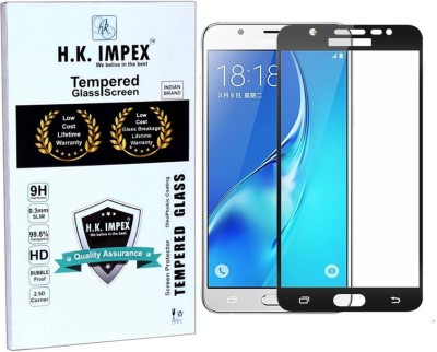 H.K.Impex Tempered Glass Guard for Samsung Galaxy J7-6 (new 2016)(5.5 inch)(Pack of 1)