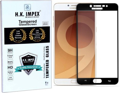 H.K.Impex Tempered Glass Guard for Samsung Galaxy On Max (5.7 inch) full display cover(Pack of 1)