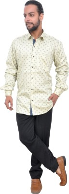 Mods Men Floral Print Casual Spread Shirt