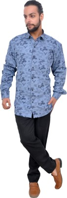 Mods Men Military Camouflage Casual Spread Shirt