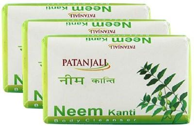 Patanjali Neem Kanti Soap | Pack of 3(3 x 0.25 g)