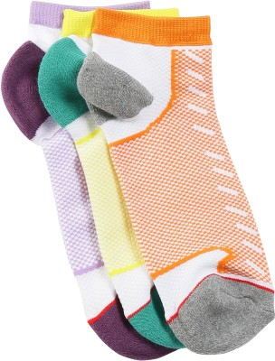 Soxytoes Men & Women Self Design Quarter Length Socks(Pack of 3)