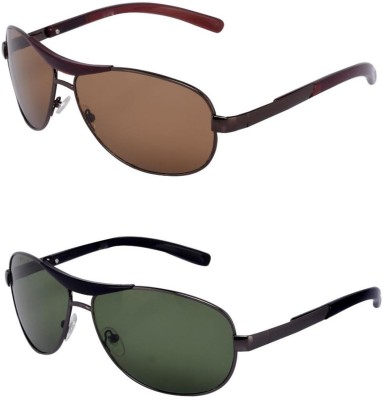 999bb7ac569f 66% OFF on Barbarik Wrap-around, Wrap-around Sunglasses(Green, Green) on  Flipkart | PaisaWapas.com