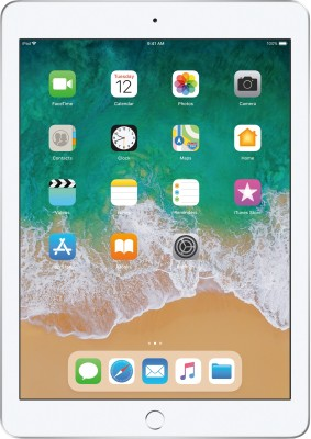 Apple iPad  6th Gen  128  GB 9.7 inch with Wi Fi Only  Silver