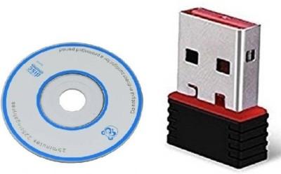 Teratech Wireless Mini Wi fi Dongle 2.4GHz 802.11N USB Adapter Black