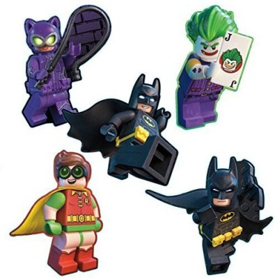 Smilemakers Lego Batman Shaped Stickers - Prizes And Giveaways - 50 Per Pack