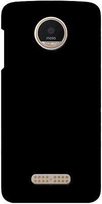 MAX CASE Back Cover for Motorola Moto Z Play Black