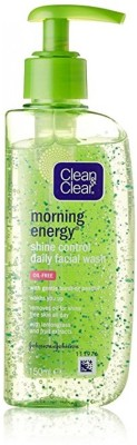 Clean and Clear Morning Energy Skin Shine Control Daily Facial Wash 150ml