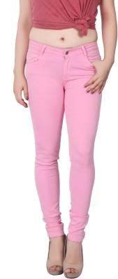 Obeo Slim Women Pink Jeans