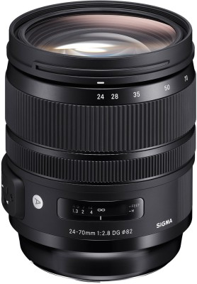 Sigma 24-70mm F/2.8 DG OS HSM Art lens for Nikon Dslr Camera  Lens(Black, 24-70) 1