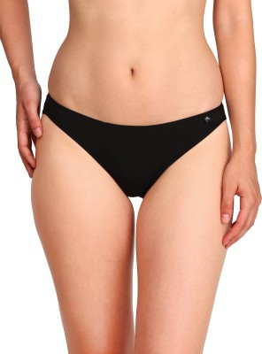 Jockey Women Bikini Black Panty(Pack of 1)