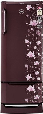 Godrej 255 L Direct Cool Single Door 4 Star Refrigerator(Zinnia Wine, RD EDGE DUO 255 PD INV4.2)