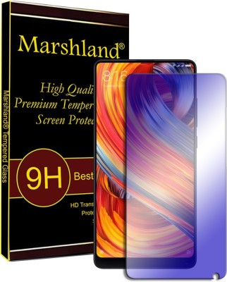 Marshland Tempered Glass Guard for Xiaomi Mi Mix 2 Anti-Blue Glass Tempered 9H Hardness Bubble-free Scratch Resistant 2.5D Round Edge 0.33mm Thickness Anti Scratch Oleo phobic Coating Tempered Glass For Xiaomi Mi Mix 2(Pack of 1)