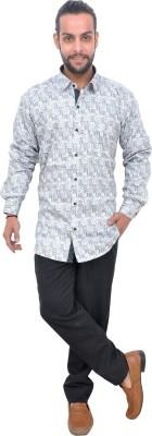 Mods Men Printed Casual Button Down Shirt