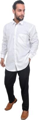 Mods Men Polka Print Casual Button Down Shirt