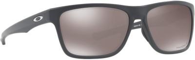 Oakley HOLSTON Rectangular Sunglass(Black)