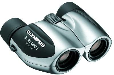 Olympus DPC I 8x21 Binoculars(21 mm, Silver, Black)
