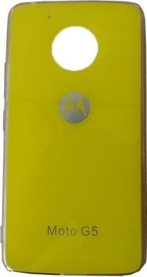 Nwt Back Cover for Motorola Moto G5(Yellow, Hard Case)