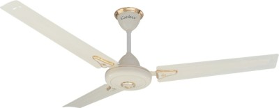 Gorilla Efficio Energy Saving 5 Star Rated with Remote Control and BLDC Motor 3 Blade Ceiling Fan(Ivory, Pack of 1.0)