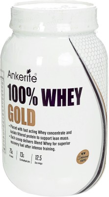 Ankerite 100% WHEY GOLD Whey Protein(750 g, CHOCOLATE)  available at flipkart for Rs.1950