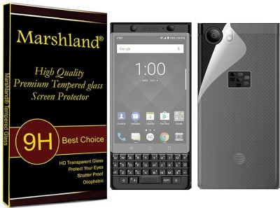 Marshland Front and Back Screen Guard for Blackberry Keyone