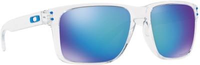 Oakley HOLBROOK XL Rectangular Sunglass(Blue)