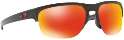 Oakley SLIVER EDGE Rectangular Sunglass(Orange)