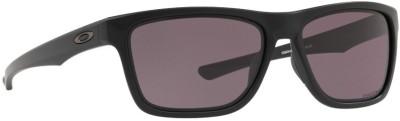 Oakley HOLSTON Rectangular Sunglass(Grey)