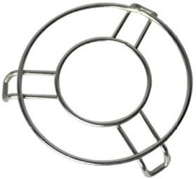 Nandani Stainless Steel Heat Resistant Hot Pan/Pot Stand Mat Pack of 3 Silver Trivet(Pack of 3) at flipkart