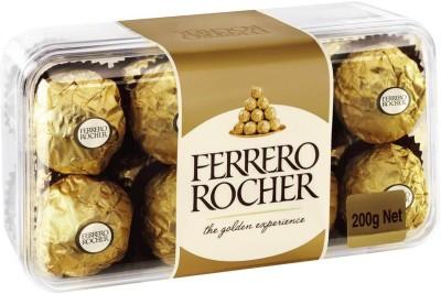 Ferrero Rocher 16ferrero rocher chocolate Truffles(200 g)