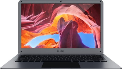 i-Life ZED Series Atom Quad Core - (2 GB/32 GB EMMC Storage/Windows 10 Home) ZED AIR Grin / ZED Air Laptop(14 Inch, Grey, 1.36 kg)