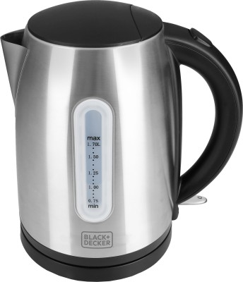 Black & Decker BXKE1702IN Electric Kettle(1.7 L, Grey)