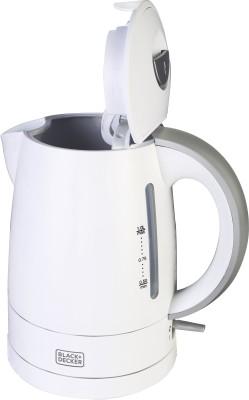 Black & Decker BXKE0101IN Electric Kettle(1 L, White)