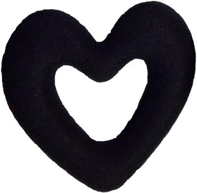 Param Heart shape donut Bun Bun(Black)  available at flipkart for Rs.105