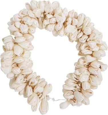 Majik Artificial Hair Flower Gajra / Veni Hair Accessories For Women Hair Accessory Set(White)