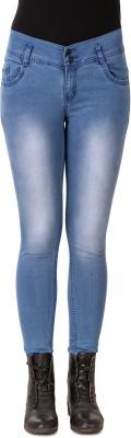 ZXN Slim Women Light Blue Jeans
