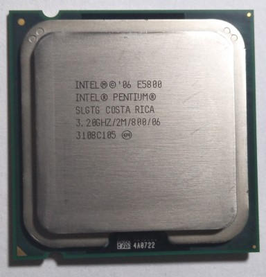 Intel 3.20 Ghz LGA 775 Dual Core E5800 Processor(Silver)  available at flipkart for Rs.500