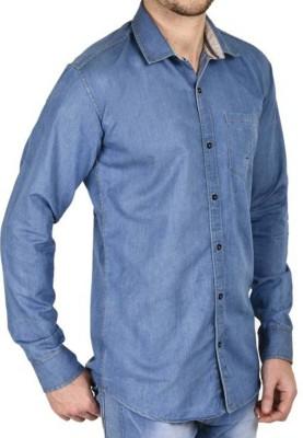 Sunshiny Men's Solid Casual Shirt