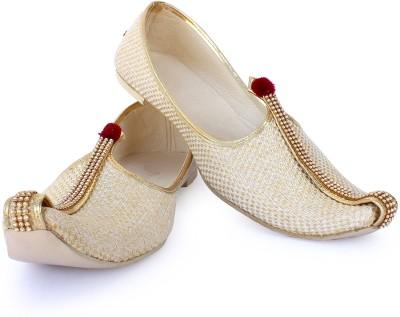 RYAG Men's Beige Cream Jute Jutti uk 10 Jutis For Men Beige RYAG Casual Shoes