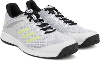buy online 06e59 db8b7 35% OFF on ADIDAS ADIZERO CLUB OC Tennis Shoes For Men(White) on Flipkart   PaisaWapas.com