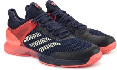 hot sales d8a1e c4a80 37% OFF on ADIDAS ADIZERO UBERSONIC 2 CLAY Tennis Shoes For Men(Multicolor)  on Flipkart  PaisaWapas.com