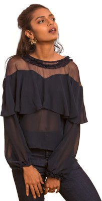 Only Casual Full Sleeve Solid Women
