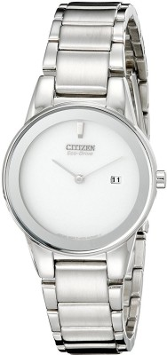 Citizen Silver 9609 Citizen Women's GA1050-51A Eco-Drive Axiom Stainless Steel Watch Analog Watch - For Women