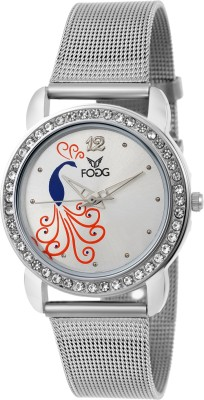 Fogg 4045-WH Modish Analog Watch For Women