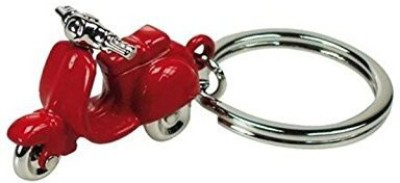 Universal Aai Classic Fun Scooter Metallic Key Chain Keyring Full Metal Keychain - Red Key Chain  available at flipkart for Rs.180
